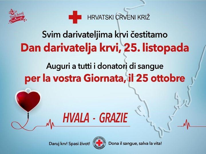 25.10. - Dan darivatelja krvi