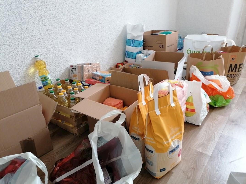 Prikupljanje donacija za pomoć stradalima u potresu